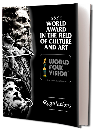 Regulations of the World Award in the field of Culture and Art